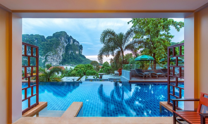 DELUXE POOL ACCESS Krabi Cha-Da Resort Hotel Krabi
