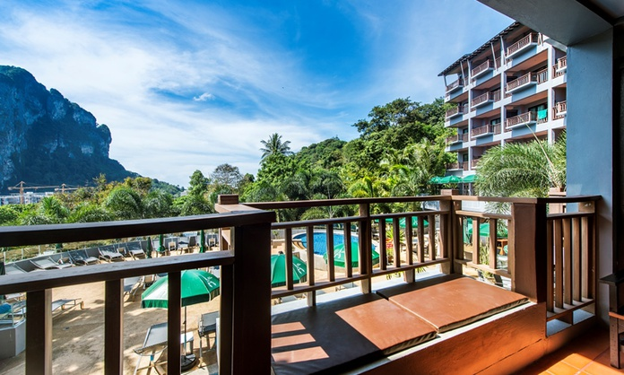 Deluxe Double or Twin Sea View Krabi Cha-Da Resort Hotel Krabi